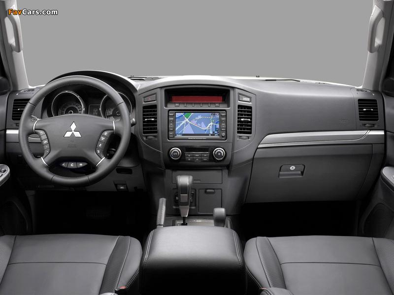 Mitsubishi Pajero 5-door 2011 photos (800 x 600)