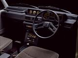 Photos of Mitsubishi Pajero Wagon (I) 1983–91
