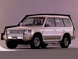Photos of Mitsubishi Pajero Wagon JP-spec (II) 1991–97