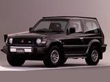Photos of Mitsubishi Pajero Metal Top JP-spec 1991–99