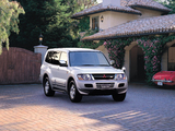 Photos of Mitsubishi Pajero LongExceed JP-spec 1999–2002