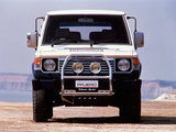 Pictures of Mitsubishi Pajero Rothmans Special (I) 1987