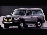 Pictures of Mitsubishi Pajero Wagon JP-spec (II) 1991–97