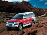 Pictures of Mitsubishi Pajero SFX 2002