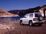Mitsubishi Pajero Metal Top JP-spec 1997–99 wallpapers