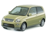 Pictures of Mitsubishi Pistachio (H44A) 1999–2000