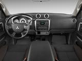 Mitsubishi Raider Double Cab 2005–09 photos