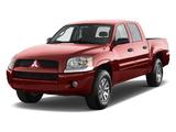 Mitsubishi Raider Double Cab 2005–09 pictures