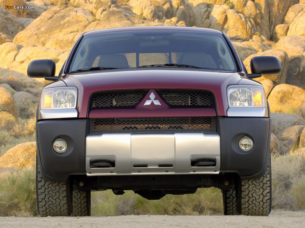 Mitsubishi Raider DuroCross 2006–09 images (1024 x 768)