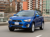 Mitsubishi RVR CA-spec (GA3W) 2015–2016 wallpapers