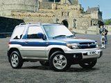 Mitsubishi Shogun Pinin 3-door 2000–05 pictures