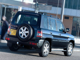 Mitsubishi Shogun Pinin 5-door 2000–05 pictures