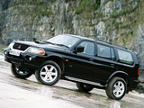 Mitsubishi Shogun Sport 1999–2005 wallpapers