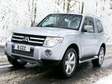 Mitsubishi Shogun 3-door 2006 wallpapers