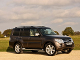 Photos of Mitsubishi Shogun 5-door 2011