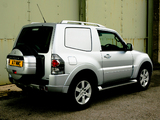 Mitsubishi Shogun 3-door Van 2006 wallpapers