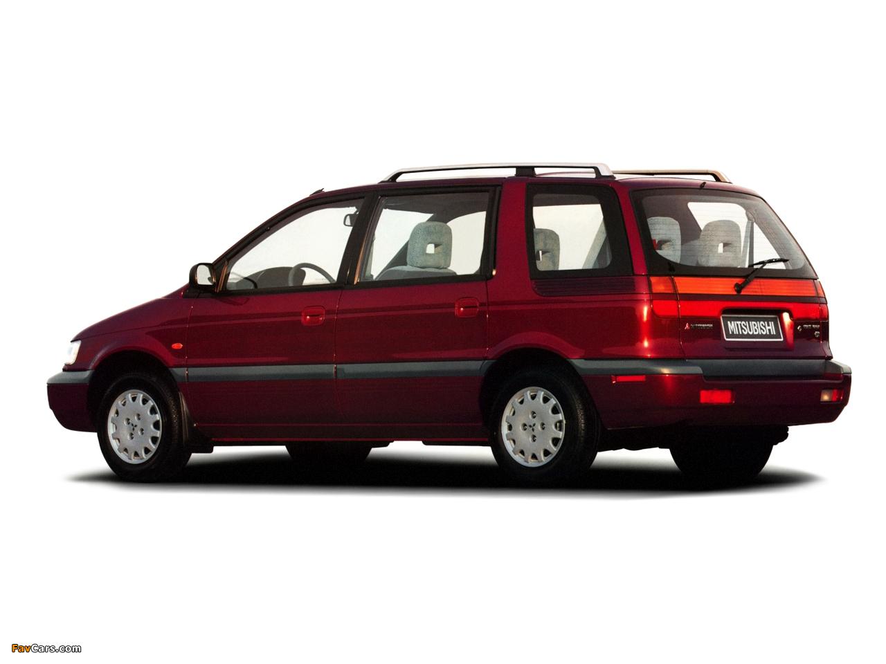 Mitsubishi Space Wagon 1991–94 images (1280 x 960)