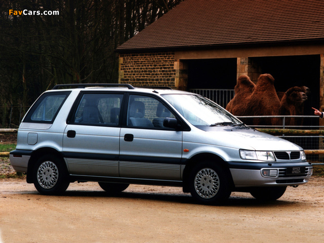 Mitsubishi Space Wagon UK-spec 1994–97 wallpapers (640 x 480)