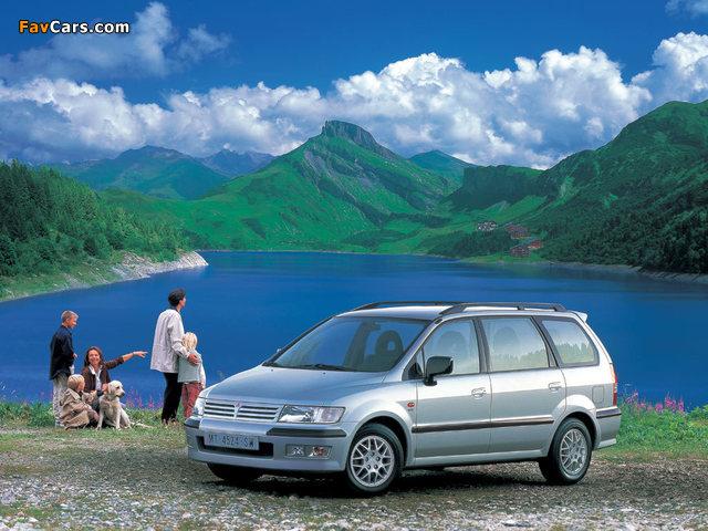 Mitsubishi Space Wagon 1997–2003 wallpapers (640 x 480)
