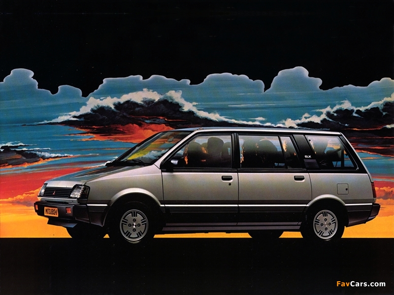 Photos of Mitsubishi Space Wagon 1983–92 (800 x 600)