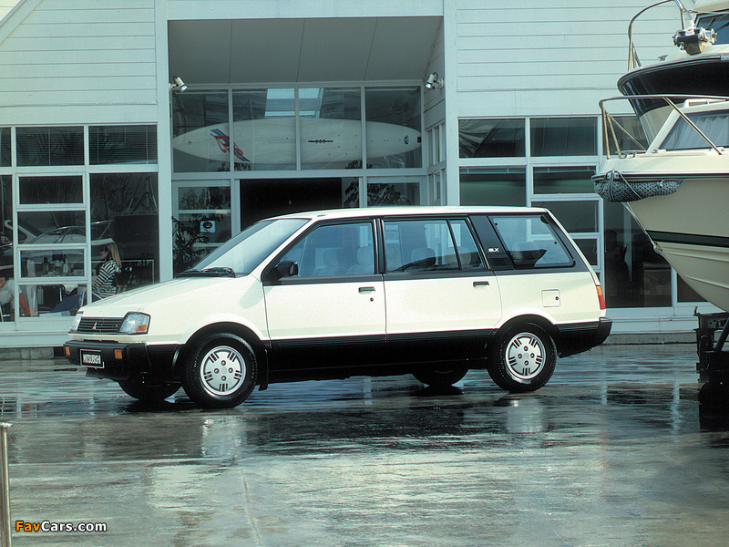 Mitsubishi Space Wagon 1983–92 wallpapers (800 x 600)