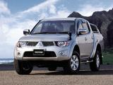 Images of Mitsubishi Triton Double Cab JP-spec (KB9T) 2010