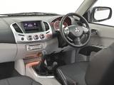 Mitsubishi Triton Double Cab ZA-spec 2013 pictures