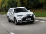 Mitsubishi Outlander UK-spec 2015 pictures