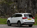 Mitsubishi Outlander UK-spec 2015 wallpapers