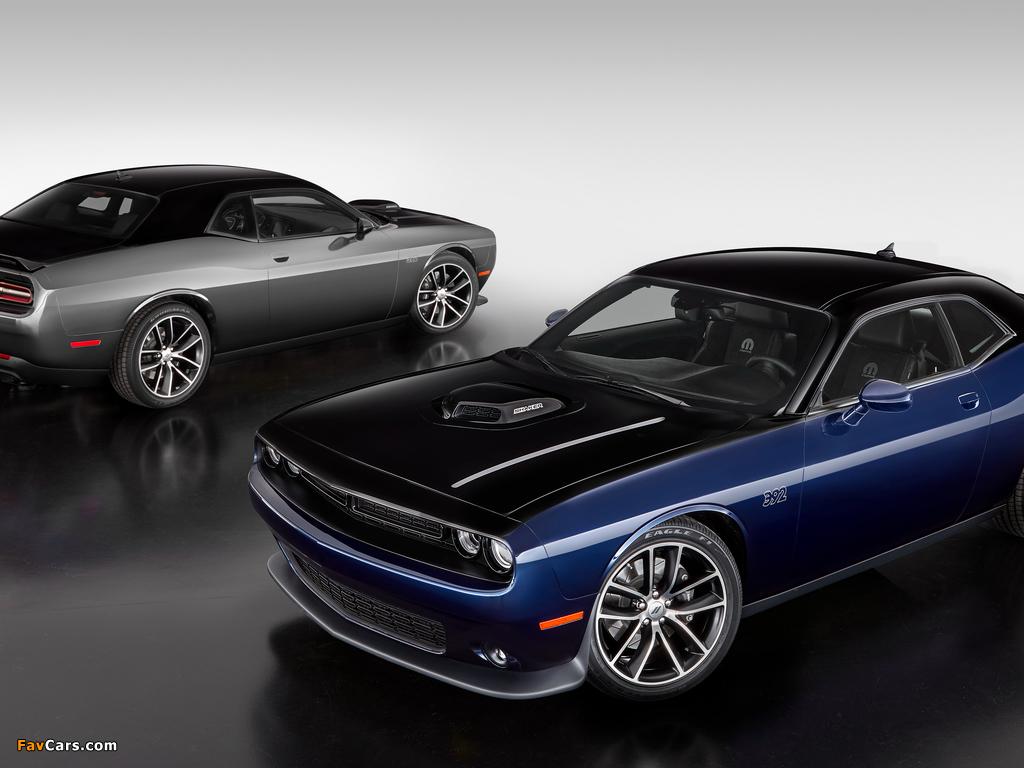 Mopar 17 Dodge Challenger (LC) 2017 wallpapers (1024 x 768)