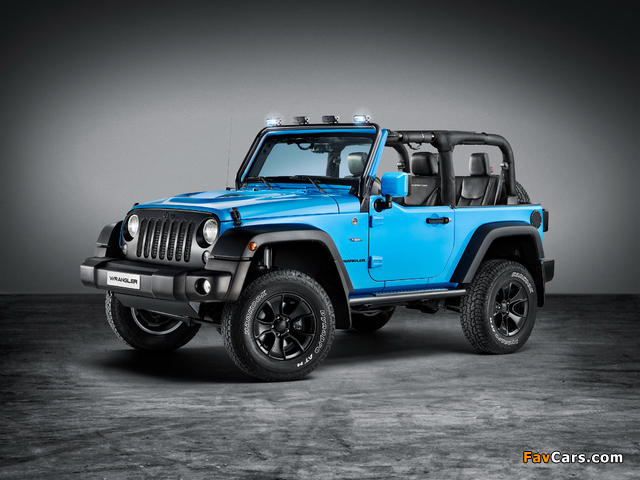 Jeep Wrangler Rubicon MoparONE Pack (JK) 2016 images (640 x 480)