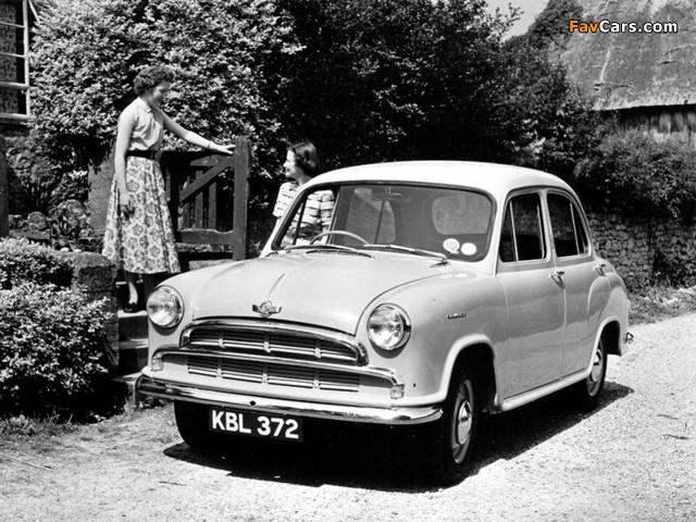 Morris Cowley (MkI) 1954–56 wallpapers (640 x 480)