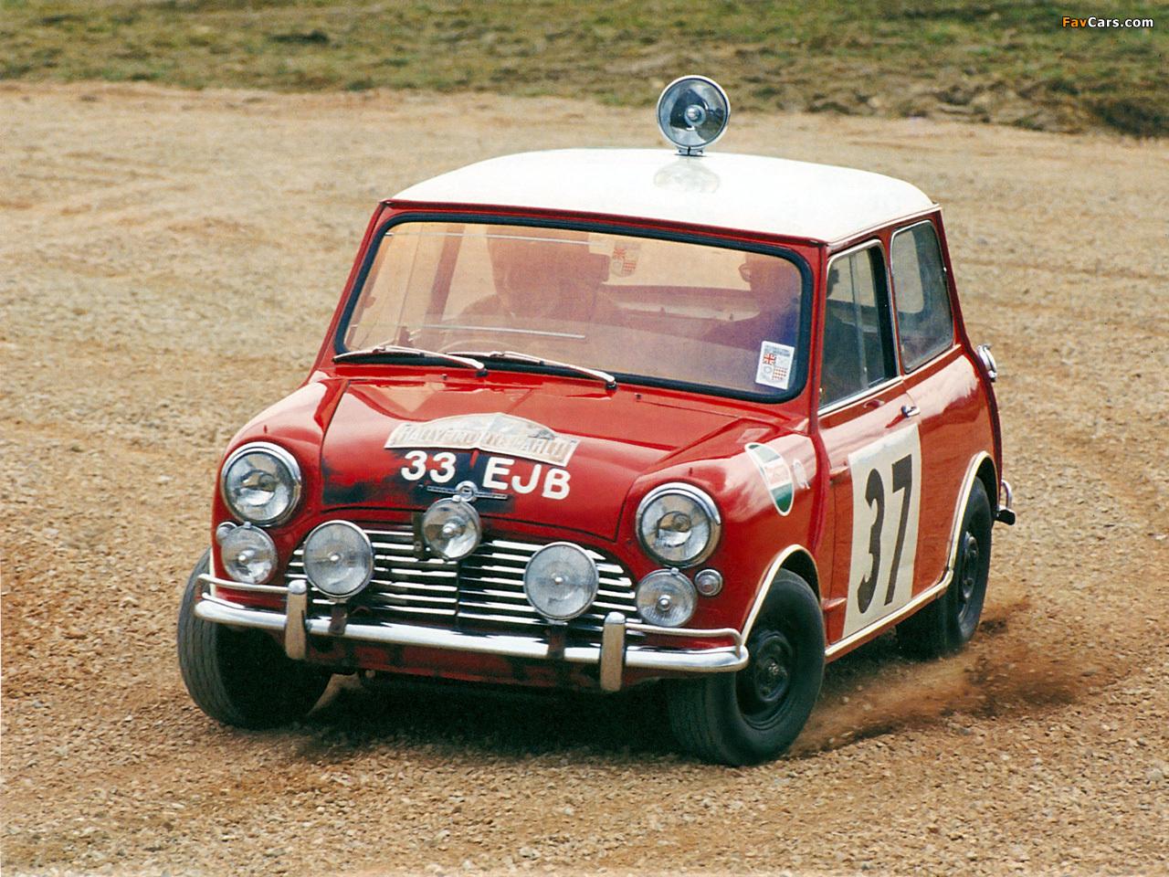 Morris Mini Cooper S Rally (ADO15) 1964–68 wallpapers (1280x960)