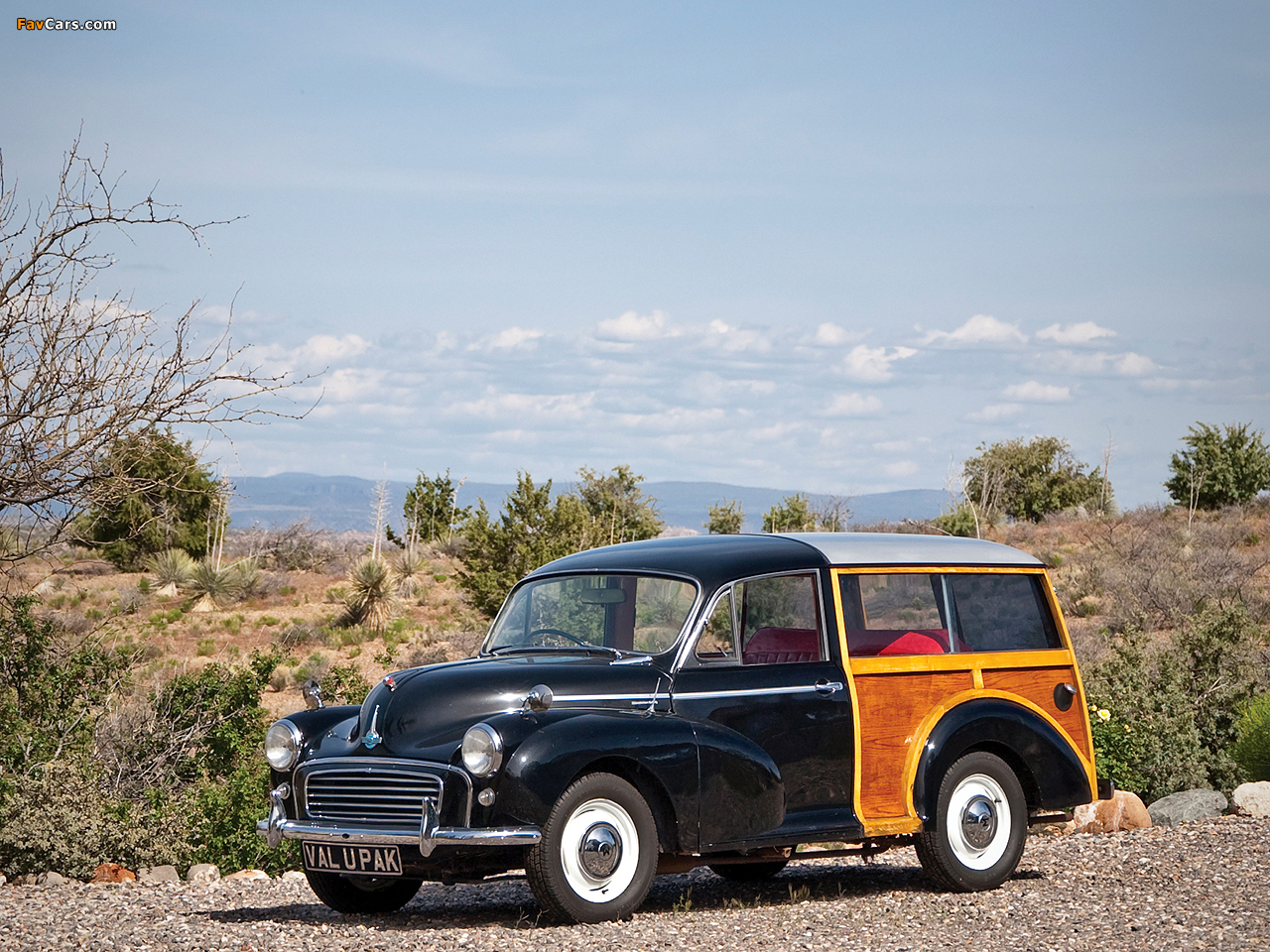 Morris Minor 1000 Traveller 1956–62 pictures (1280 x 960)