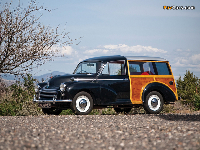 Morris Minor 1000 Traveller 1956–62 wallpapers (640 x 480)