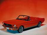 Images of Mustang Convertible 1964