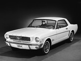 Mustang Coupe 1964 pictures