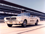 Mustang Convertible Indy 500 Pace Car 1964 pictures