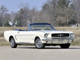 Mustang 260 Convertible 1964 pictures