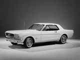 Mustang Coupe 1965 pictures