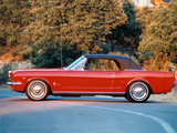Mustang Convertible 1965 pictures