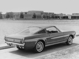 Mustang Fastback 1965 wallpapers