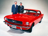 Mustang Coupe 1965 wallpapers