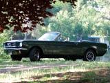Mustang GT Convertible 1966 photos