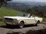 Mustang Convertible 1966 pictures