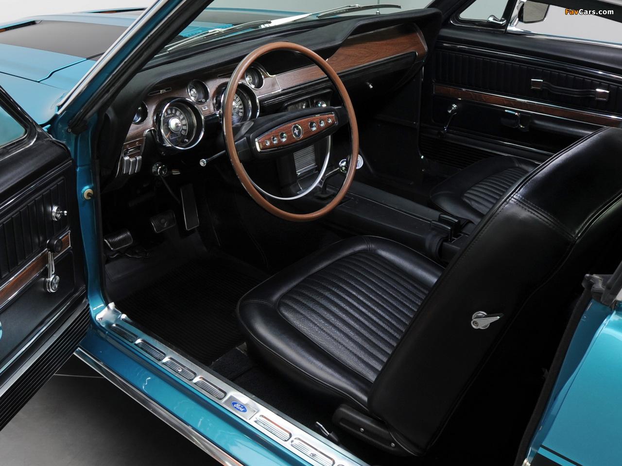 Mustang GT Fastback 1968 photos (1280 x 960)