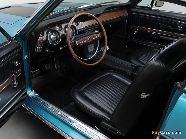 Mustang GT Fastback 1968 photos (640 x 480)