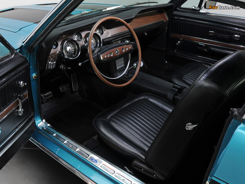 Mustang GT Fastback 1968 photos (800 x 600)