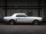 Mustang GT Hardtop 1968 wallpapers