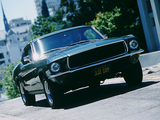 Mustang Fastback GT390 Bullitt 1968 wallpapers